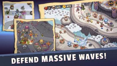 Realm Defense: Epic Tower Defense Strategy Game عکس 1