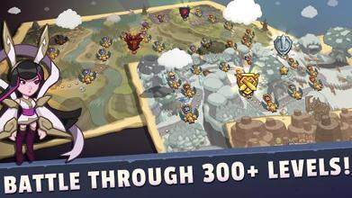 Realm Defense: Epic Tower Defense Strategy Game عکس 2