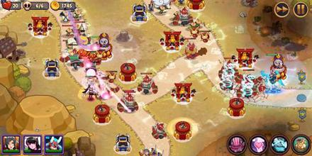 Realm Defense: Epic Tower Defense Strategy Game عکس 6