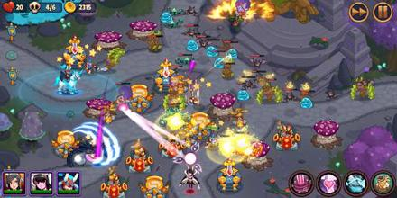 Realm Defense: Epic Tower Defense Strategy Game عکس 7