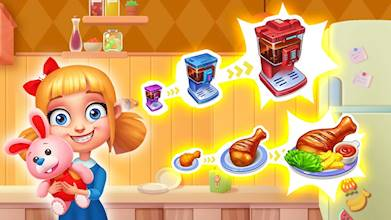 Crazy Chef: Fast Restaurant Cooking Games عکس 12