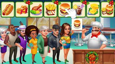 Crazy Chef: Fast Restaurant Cooking Games عکس 13