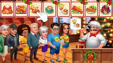 Crazy Chef: Fast Restaurant Cooking Games عکس 14