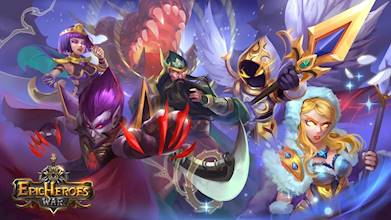 Epic Heroes War: Action + RPG + Strategy + PvP عکس 12
