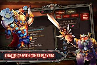 Epic Heroes War: Action + RPG + Strategy + PvP عکس 15