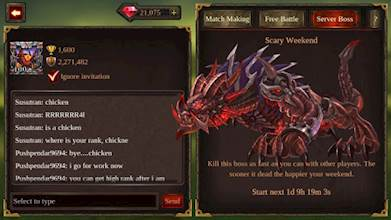 Epic Heroes War: Action + RPG + Strategy + PvP عکس 2