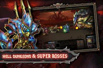 Epic Heroes War: Action + RPG + Strategy + PvP عکس 6