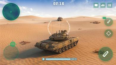 War Machines: Tank Battle - Army & Military Games عکس 1