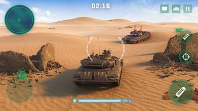 War Machines: Tank Battle - Army & Military Games عکس 2
