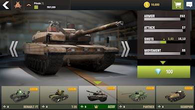 War Machines: Tank Battle - Army & Military Games عکس 6