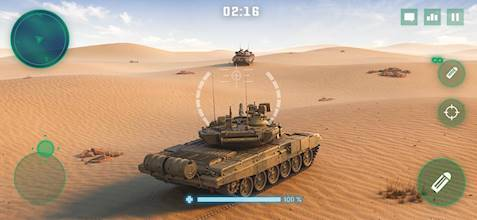 War Machines: Tank Battle - Army & Military Games عکس 8