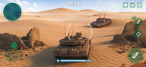 War Machines: Tank Battle - Army & Military Games عکس 9