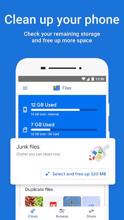 Files by Google: Clean up space on your phone عکس 1