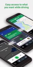 Android Auto - Google Maps, Media & Messaging عکس 5