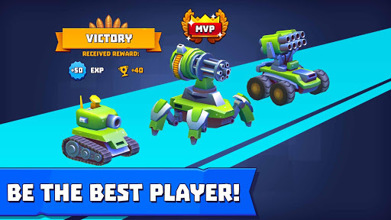 Tanks A Lot! - Realtime Multiplayer Battle Arena عکس 5