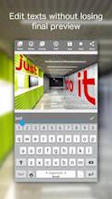Add Text on Photo: Design Text Style w/ 800+ Fonts عکس 2