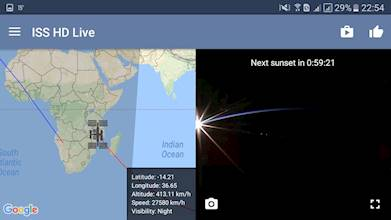ISS Live Now: Live HD Earth View and ISS Tracker عکس 13