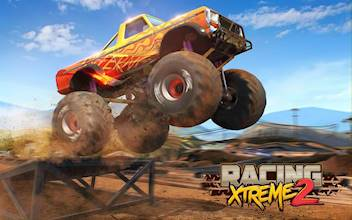 Racing Xtreme 2: Top Monster Truck & Offroad Fun عکس 11