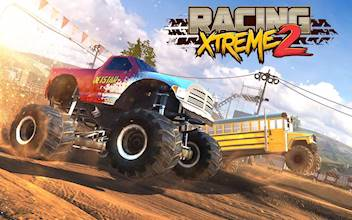 Racing Xtreme 2: Top Monster Truck & Offroad Fun عکس 13