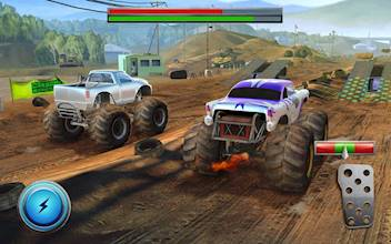 Racing Xtreme 2: Top Monster Truck & Offroad Fun عکس 15