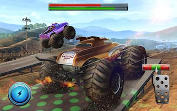 Racing Xtreme 2: Top Monster Truck & Offroad Fun عکس 16