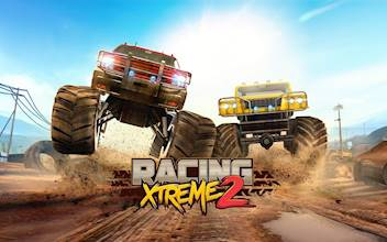 Racing Xtreme 2: Top Monster Truck & Offroad Fun عکس 17