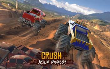 Racing Xtreme 2: Top Monster Truck & Offroad Fun عکس 2