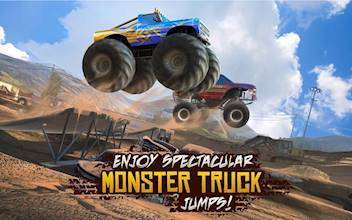 Racing Xtreme 2: Top Monster Truck & Offroad Fun عکس 20