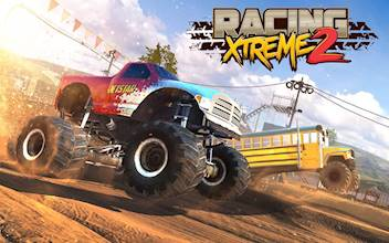 Racing Xtreme 2: Top Monster Truck & Offroad Fun عکس 21