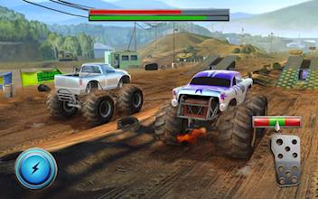 Racing Xtreme 2: Top Monster Truck & Offroad Fun عکس 23