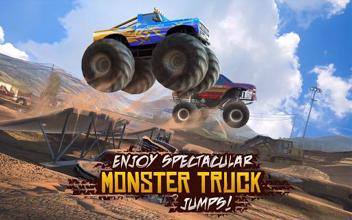 Racing Xtreme 2: Top Monster Truck & Offroad Fun عکس 4