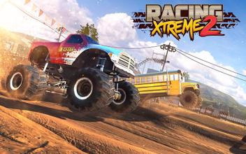 Racing Xtreme 2: Top Monster Truck & Offroad Fun عکس 5