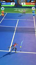 Tennis Clash: The Best 1v1 Free Online Sports Game عکس 1