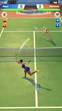 Tennis Clash: The Best 1v1 Free Online Sports Game عکس 3