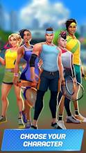 Tennis Clash: The Best 1v1 Free Online Sports Game عکس 5