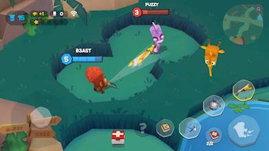 Zooba: Free-for-all Zoo Combat Battle Royale Games عکس 13