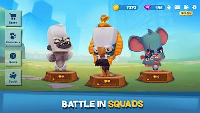 Zooba: Free-for-all Zoo Combat Battle Royale Games عکس 20