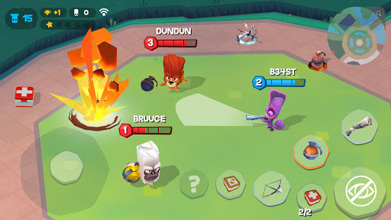 Zooba: Free-for-all Zoo Combat Battle Royale Games عکس 6