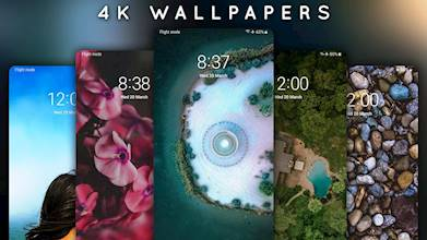 4K Wallpapers - Auto Wallpaper Changer عکس 8