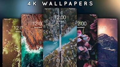 4K Wallpapers - Auto Wallpaper Changer عکس 9