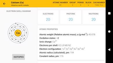Periodic Table 2021. Chemistry in your pocket عکس 6